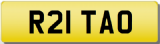 RITA O  Private CHERISHED Registration Number Plate
